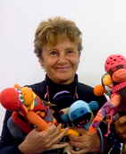 Laurie Mallet and the Sock Monkeys