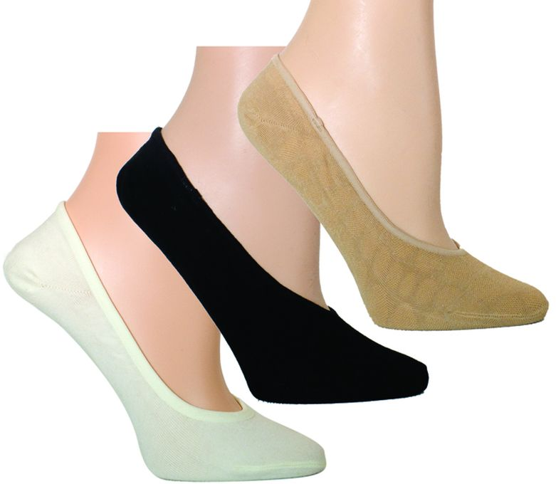 Ozone wholesale socks No Show Sock - 3 Pack women's sock