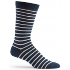 Mens Classic Stripe Sock - Navy