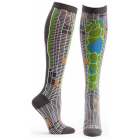 Womens NYC Map Knee High Sock