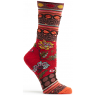 Womens Fille Sock - Red