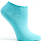 WOMENS ANKLE ZONE SOCK - AQUA