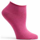 WOMENS ANKLE ZONE SOCK - MAGENTA