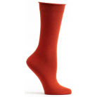 Womens Mid Zone Sock - Orange