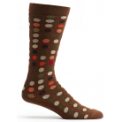 Mens Dots to Dots Chocolate Sock