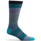 Mens Stripy Sock - Navy