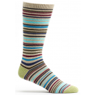 Mens Scandinavian Stripe Sock - Blue