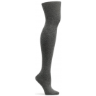 Womens Angora Jambiere Over the Knee Sock - Gray