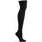 Womens Elizabethan Lace Over the Knee Sock - Black
